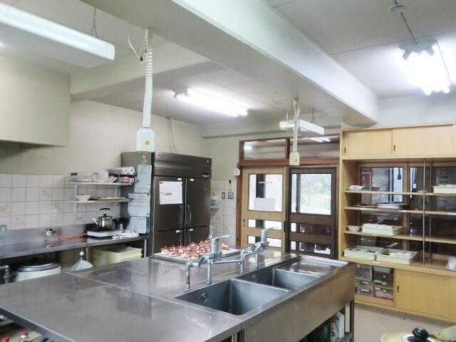 給食室の写真