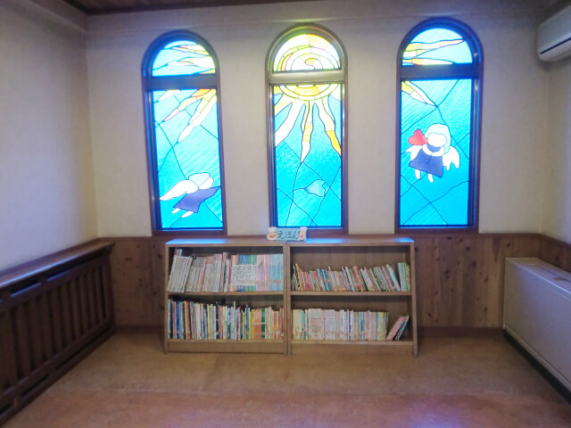 絵本スペースの写真