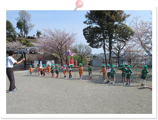 幼児体育教室の写真